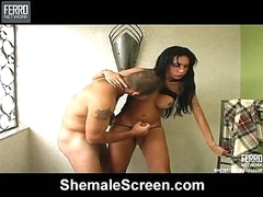 Isabele attractive shemale on video
